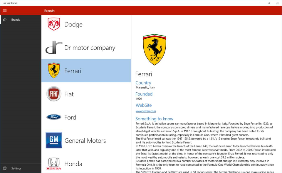 Top Car Brands for PC
