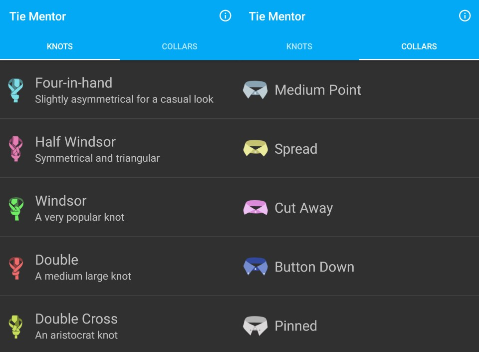 Tie Mentor for Android